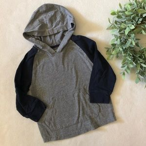 Hooded Baseball Tee